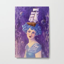 Eldoris by Mary Bottom Metal Print