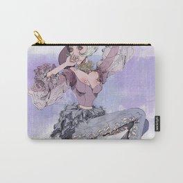 Violet Paris Carry-All Pouch