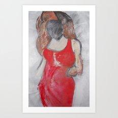 Cheryl Who? Art Print