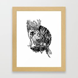 Rudolph Sparrow Framed Art Print
