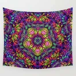 Shattered Kaleidoscope  Wall Tapestry