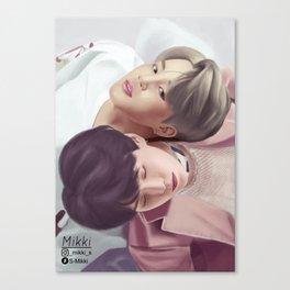 Yoonmin BTS Canvas Print