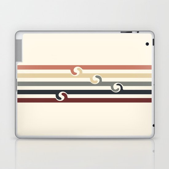 Vintage Beach Laptop & iPad Skin