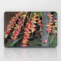 indonesia iPad Cases featuring coffee plant (Bali, Indonesia) by Christian Haberäcker - acryl abstract