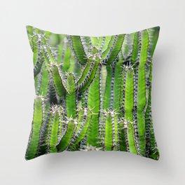Cactus Mania Throw Pillow