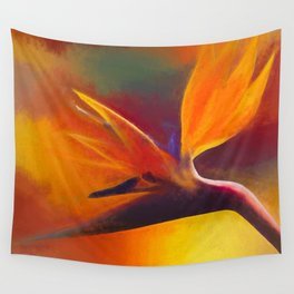 Strelitzia - nothing else Wall Tapestry