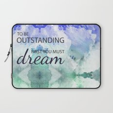 Be Outstanding Laptop Sleeve
