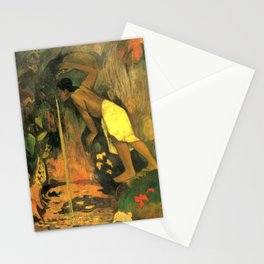 """Paul Gauguin """"Pape Moe Aka (Mysterious Water)"""" Stationery Cards"""