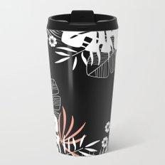 Tropical pattern 045 Metal Travel Mug