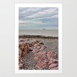 Steep Holm Bristol Channel Art Print