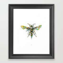 Insect Series - Hornet Framed Art Print
