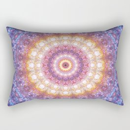 Cosmic Mandala Rectangular Pillow