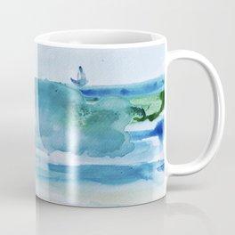Miami Beach Watercolor #1 Coffee Mug