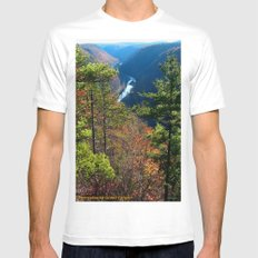 Pennsylvania Grand Canyon Mens Fitted Tee White MEDIUM