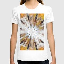 Sunburst Abstract T-shirt