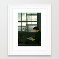 grantaire Framed Art Prints featuring Grantaire by rdjpwns