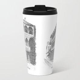 Bourbon St, New Orleans Travel Mug