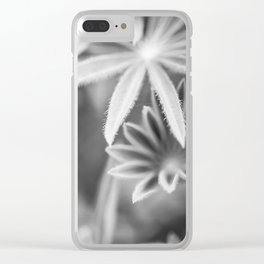 Memories of Lupins Clear iPhone Case
