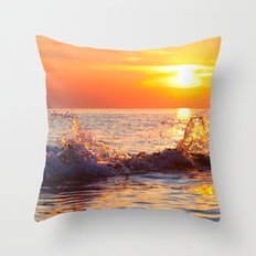 Sun Splash Throw Pillow