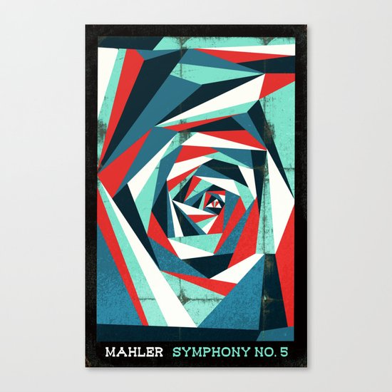 Mahler - Symphony No. 5 Canvas Print