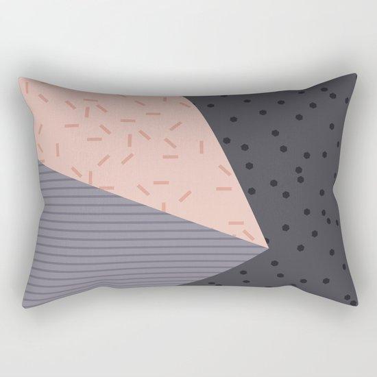 Geometry Blocks 8 Rectangular Pillow