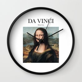 Da Vinci - Mona Lisa Wall Clock