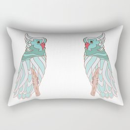 The parrot a la cockatoo Rectangular Pillow