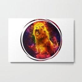 Wittmann Lion Metal Print
