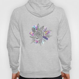 Rose and Crystals Hoody