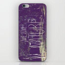 We love Nature iPhone Skin