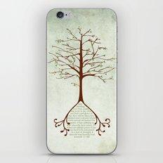 Jeremiah 17:7&8 iPhone & iPod Skin