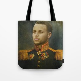 Steph Curry Classical Painting Tote Bag