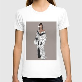 Zendaya Fashion Illustration || Illustration Print T-shirt