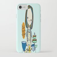 chef iPhone & iPod Cases featuring pastry chef by penpun
