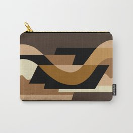 SUISSE - Art Deco Modern: CAFE JAVA Carry-All Pouch