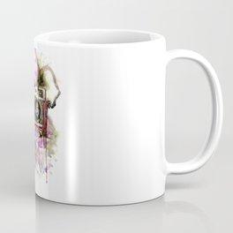 Camera in flowers Coffee Mug