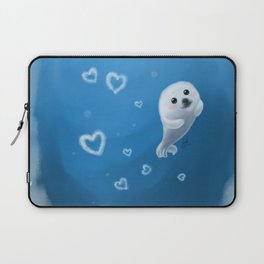 Love, From Baby Seal Laptop Sleeve