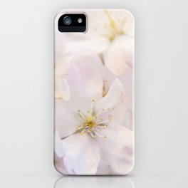 Ornamental Cherry Blossom iPhone Case