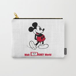 mickey mouse walt Disnei world Carry-All Pouch