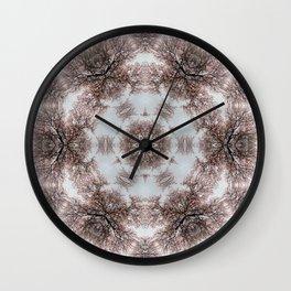 Almond Tree Wall Clock