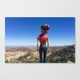 Adventure Girl Canvas Print