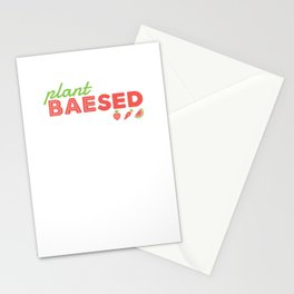 PLANT BAEsed Stationery Cards