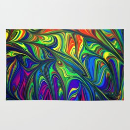 abstract art artistic Rug