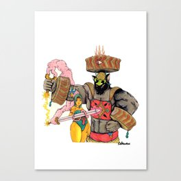 The Blumafuria Explorers Canvas Print