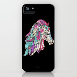 Horses Equine Accessories Riding Riding Gift iPhone Case