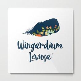 Wingardium leviosa! Metal Print