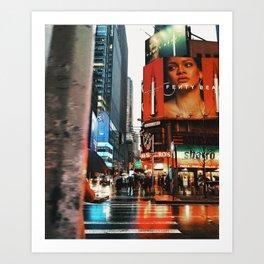 Citrus Rain Art Print