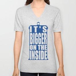 Bigger on the Inside Unisex V-Neck
