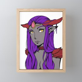 Dragon Queen Framed Mini Art Print