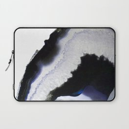 Blue syrup Agate Laptop Sleeve